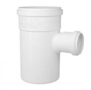 Tee de Redução Esgoto Série Normal PVC DN100 x 75 Fortlev