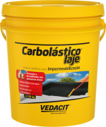 Vedacit Massa Asfáltica Carbolástico Laje P/ Imperm 3,6kg