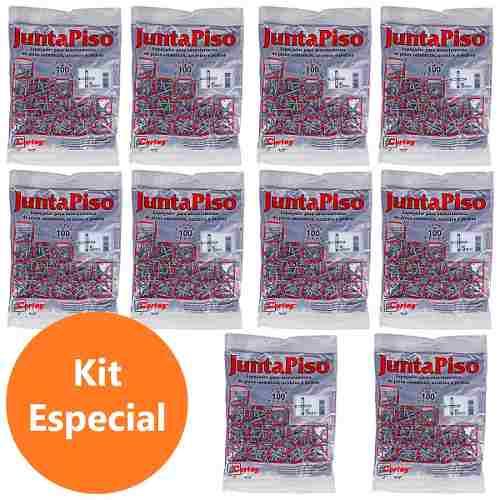 Kit 1000 Espaçador Junta De Piso 5,0mm Cortag 60520