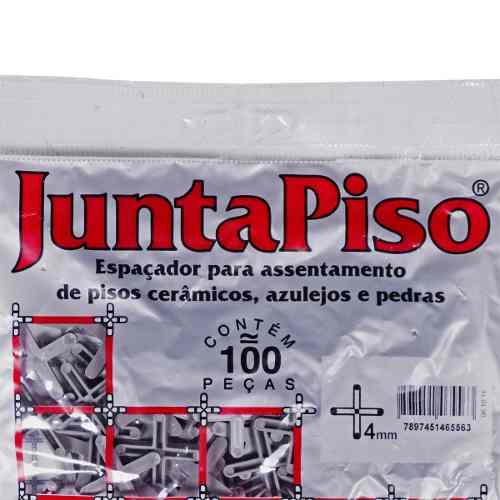 Kit 10 Espaçador Junta De Piso 4,0mm 1000 Pçs Cortag 60557