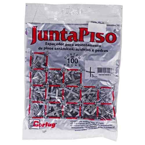 Kit 1000 Espaçador Junta De Piso 3,0mm Cortag 60510