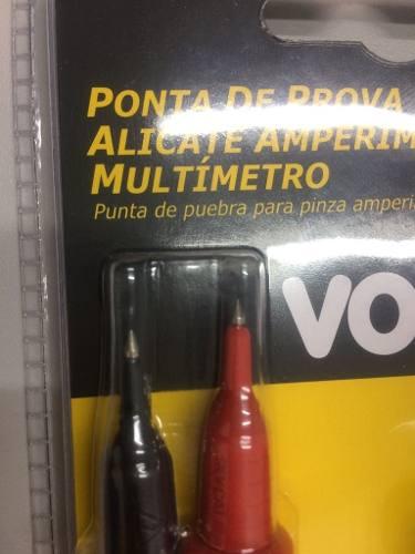 Conjunto Pontas De Prova Para Multímetros Vonder Ppv0002