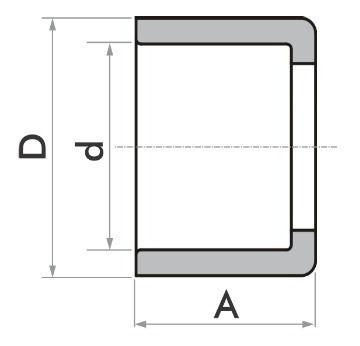 Kit 20 Bucha Redução Soldável Curta 25 X 20 Fortlev