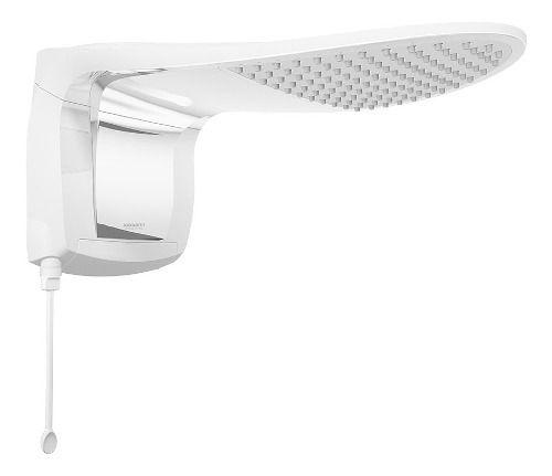 Ducha Elétrica Lorenzetti Acqua Wave Ultra Branco Cromado 7800w 220v