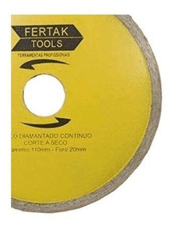 Disco Diamantado Continuo 110mm 2803 Fertak