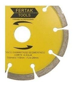 Disco Diamantado Segmentado 110mm 2801 Fertak