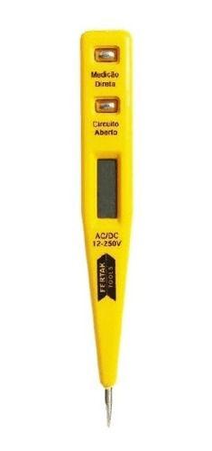 Chave Teste Digital Corrente Voltagem 12v 220v 8210 Fertak