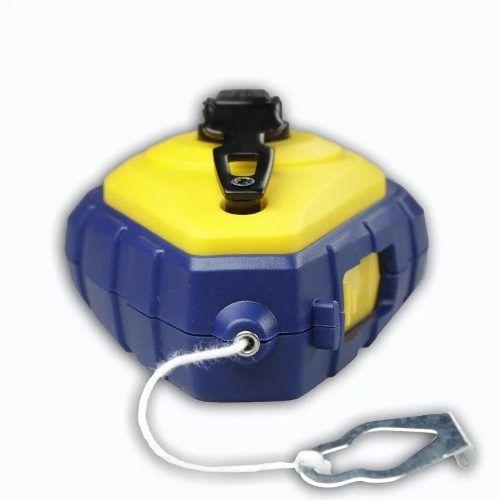 Kit Giz De Linha De Bater Para Marcação Azul 30m Irwin