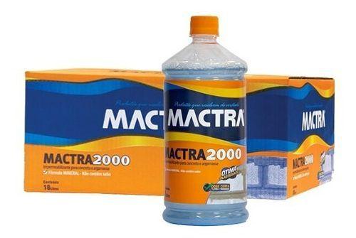 Aditivo Impermeabilizante P/ Massa Mactra 2000 18 Litros