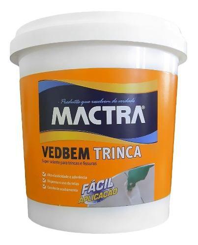 Massa Veda Trinca Fissura Vedbem Mactra Elástica 280g