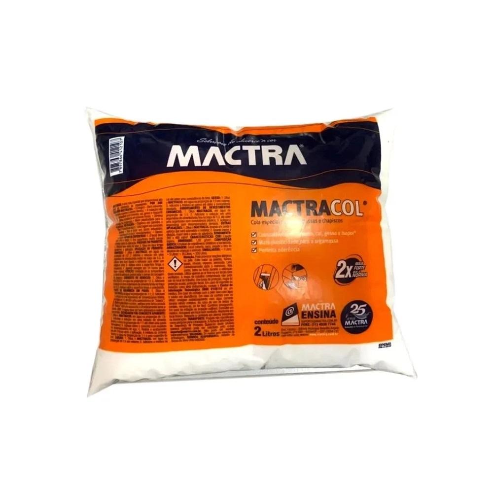 Adesivo Para Massa MactraCol 2 Litros Mactra