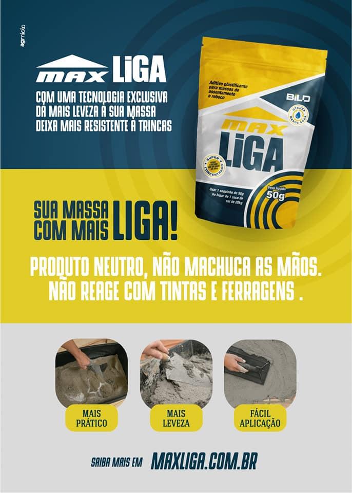 Aditivo Plastificante P/ Massa Concentrado Max Liga 50g