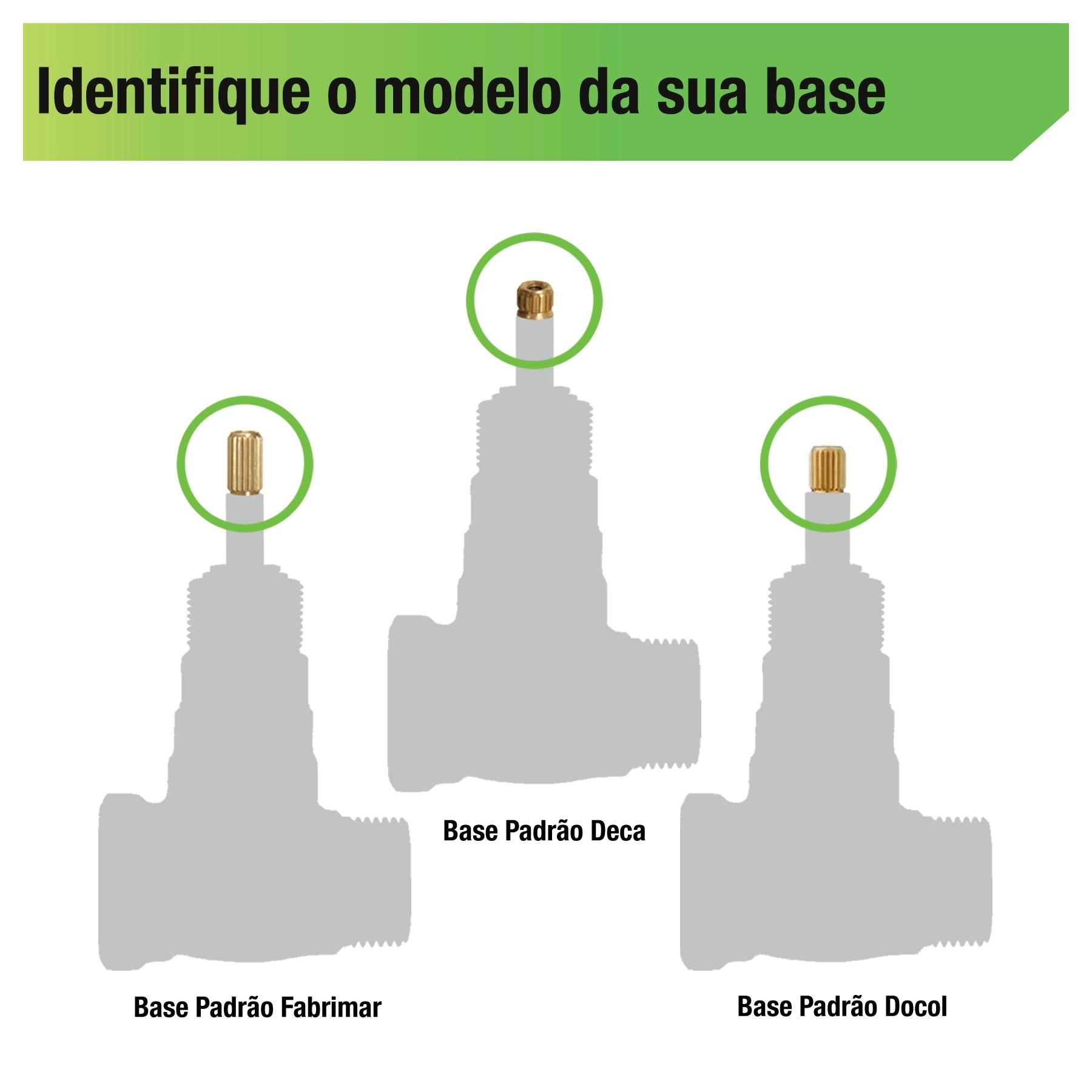 Base para Registro de Pressão 25mm ou 3/4'' 1416 Jed Metais