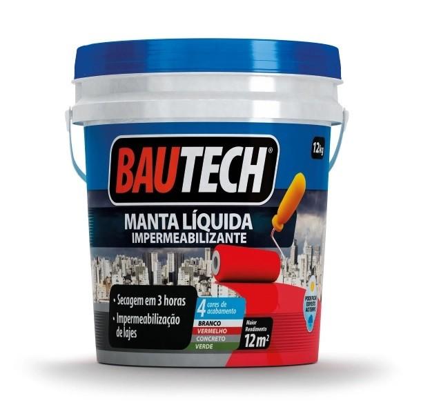 Bautech Manta Líquida Branca 12 kg