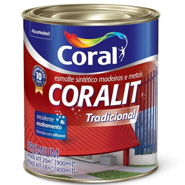 Coralit Esmalte Sint bril 1/4 preto