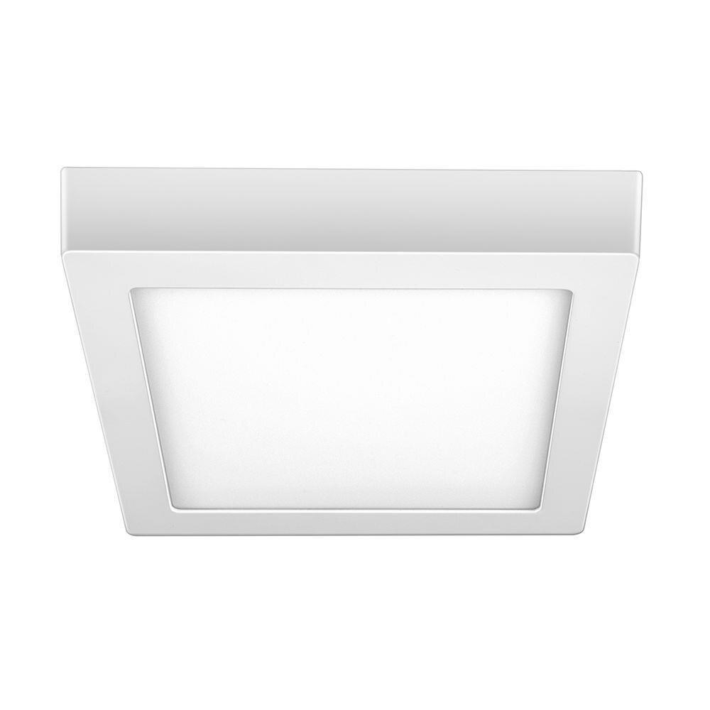Elgin Luminária Led Sobrepor Quadrada 18W 6500K Branca Fria