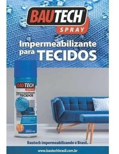 Impermeabilizante Spray P/ Tecido E Estofado Bautech 300ml
