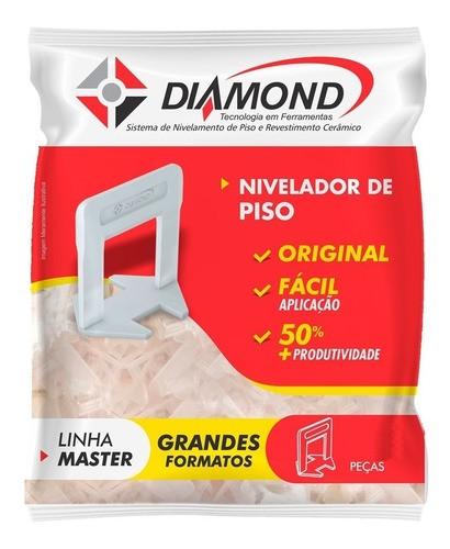 Kit 100 Nivelador Espaçador De Piso 2,0mm Diamond