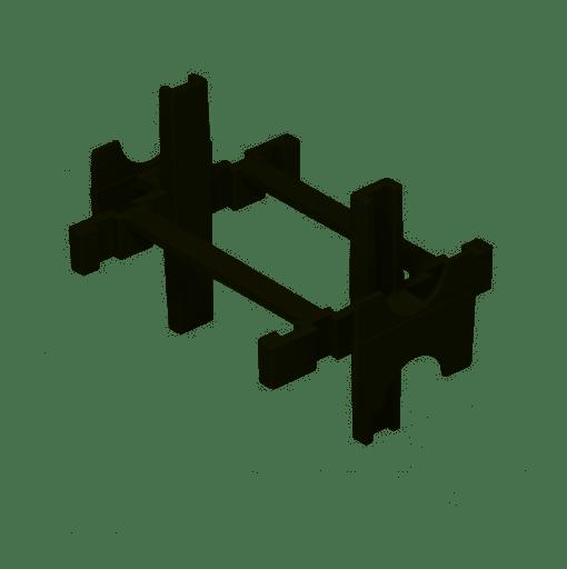 Kit 10 Espaçadores Para Bloco De Vidro Ecolider