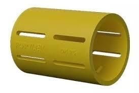 Kit 20 Luva Pressão Eletroduto Corrugado Fortlev 32mm 1''