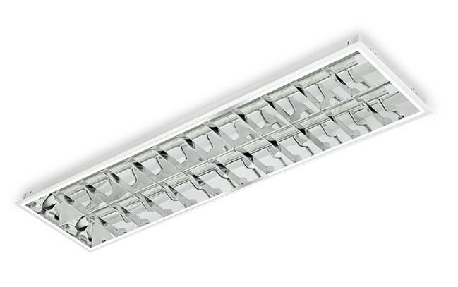 Luminária Embutir Tubulares 2 lâmpadas Alumbra