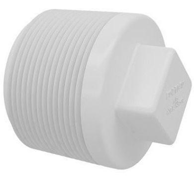 Plug Fortlev Pvc Roscável Para Água Fria 3/4'' - 20 Unidades