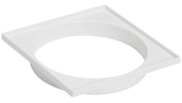Kit 5 Porta Grelha Plástica Quadrada Branca Amanco DN 100 mm