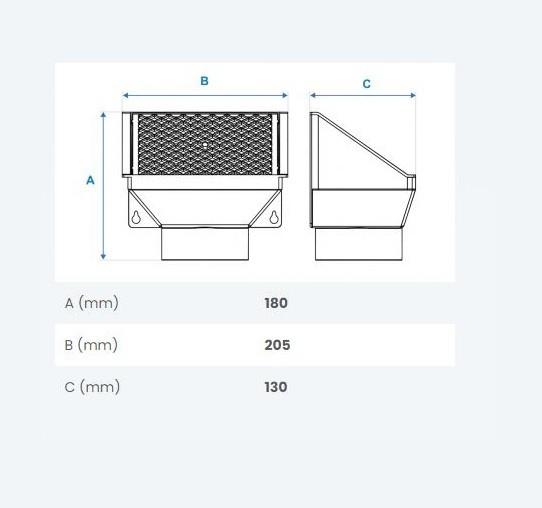 Separador de Folhas Fortlev 100mm - Cisterna