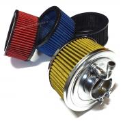 Filtro De Ar Esportivo Completo Carburador Vw Fusca 50mm Lavável