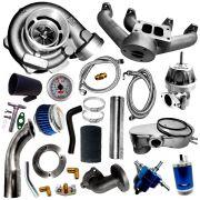 Kit Turbo Motor AP 1.6 1.8 2.0 Carburado Transversal VW Ford