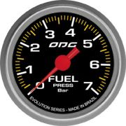 Manômetro ODG Evolution Pressão Combustível Fuel 7 bar 52mm