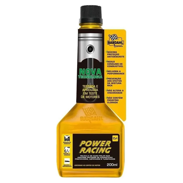 Aditivo Óleo Motor Bardahl Power Racing Motor Turbo Aspirado