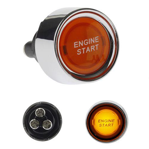 Botão Interruptor de Partida Ignição Start com Led