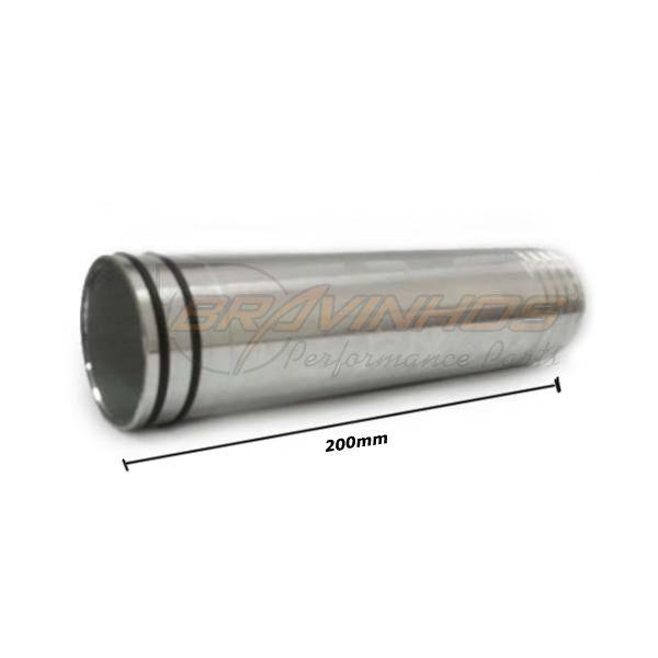 Canote Pressurização em Alumínio 50mm Longo 200mm