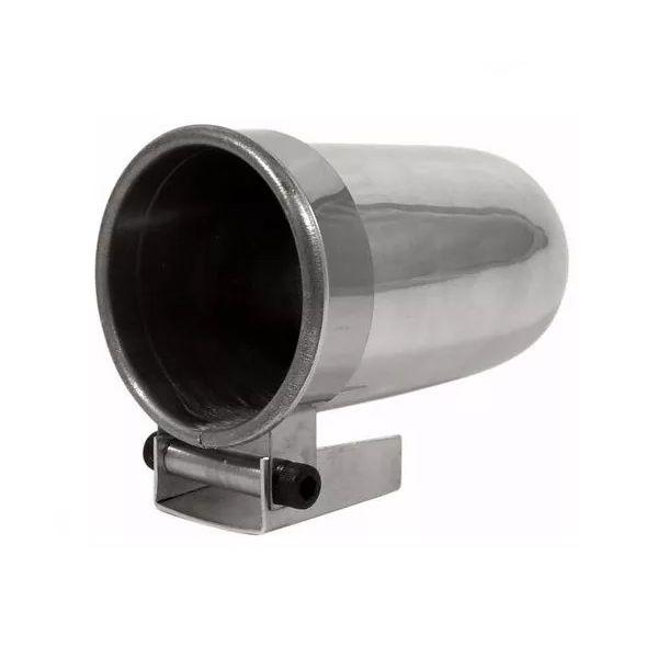 Copo para Manômetro 52mm Alumínio Polido Suporte Relógio Copinho