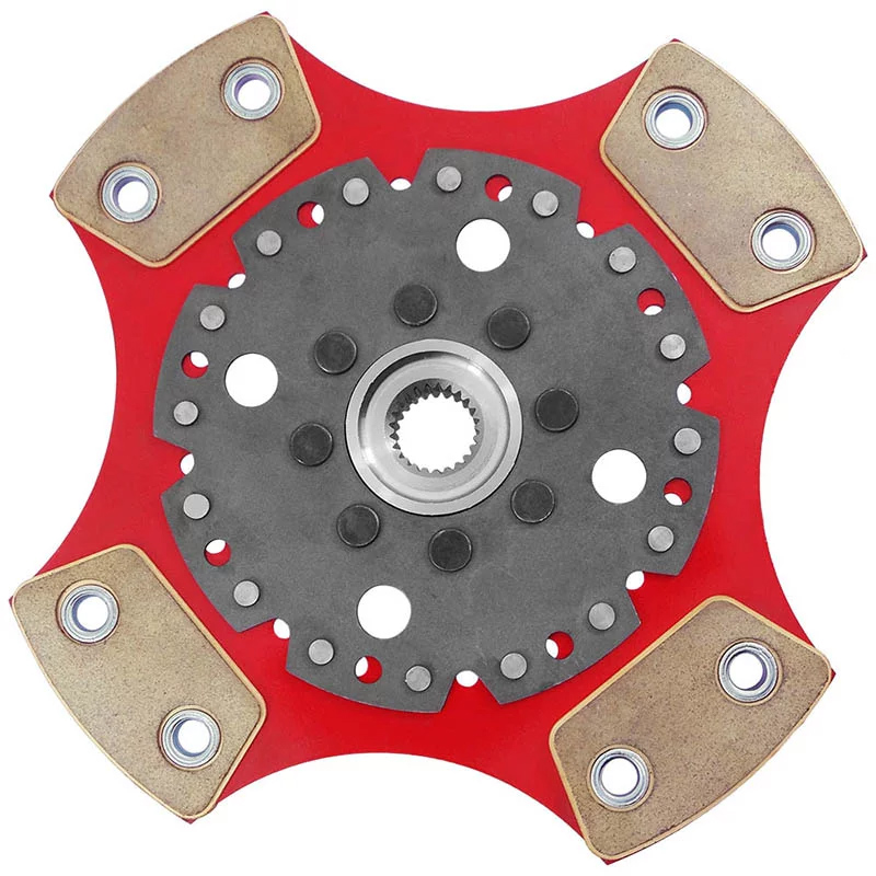 Disco de Cerâmica Embreagem VW Motor AP 4 Pastilhas Sem Molas