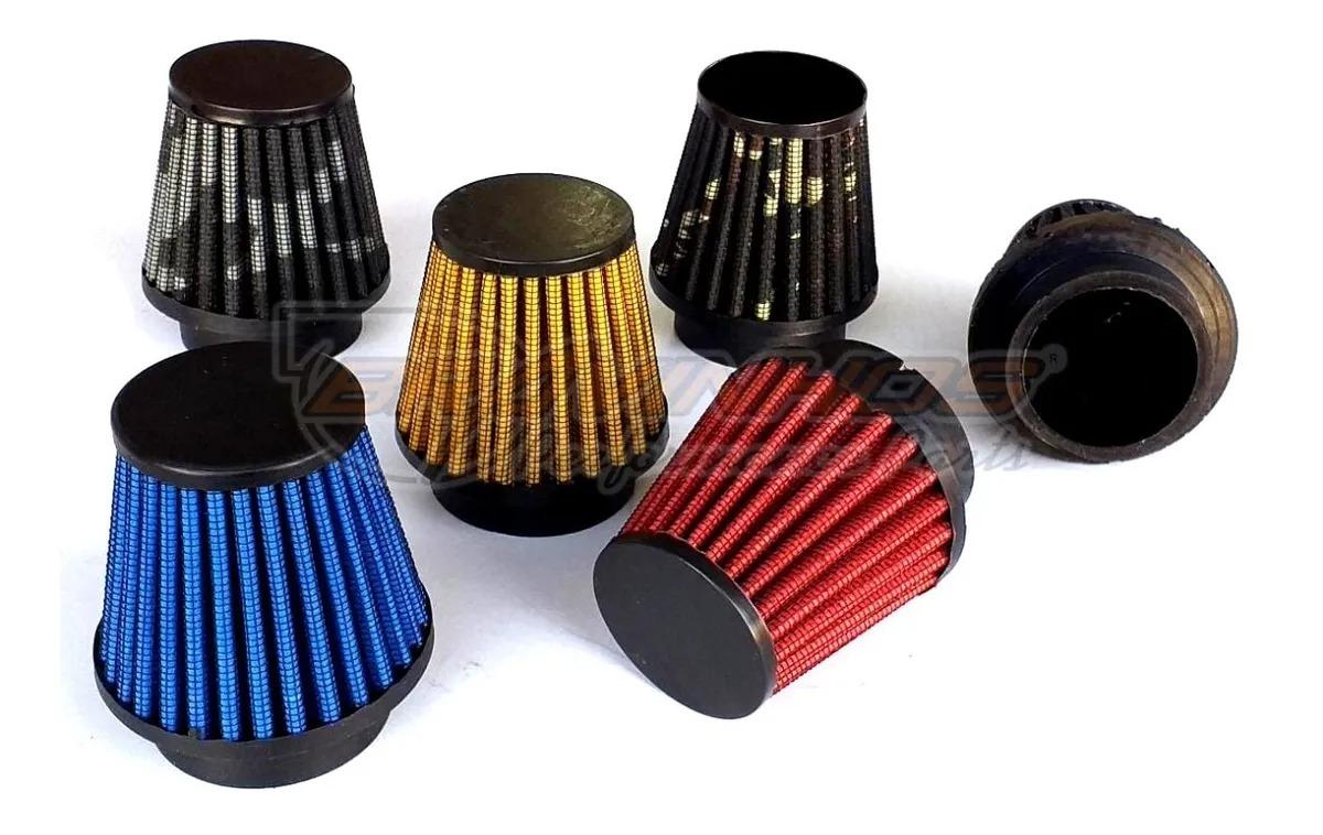 Filtro de Ar Esportivo Lavável para Motos 33mm + Brinde