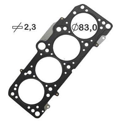 Junta de Cabeçote Aço Inox Vw Gol AP 1.6 1.8 8v Turbo