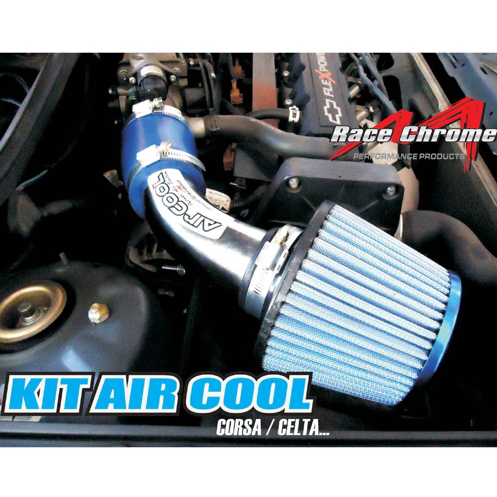 Kit Air Cool Filtro Ar Esportivo GM Corsa Celta VHC RC077