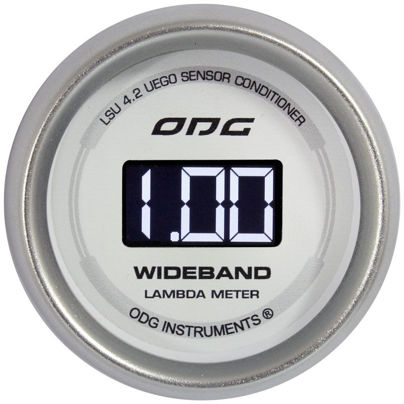 Manômetro Wideband ODG Drag II LSU 4.2 52mm