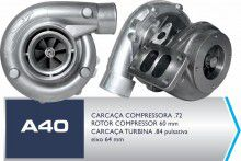 Turbina Auto Avionics A40 Turbo 74/84 Pulsativo com Refluxo