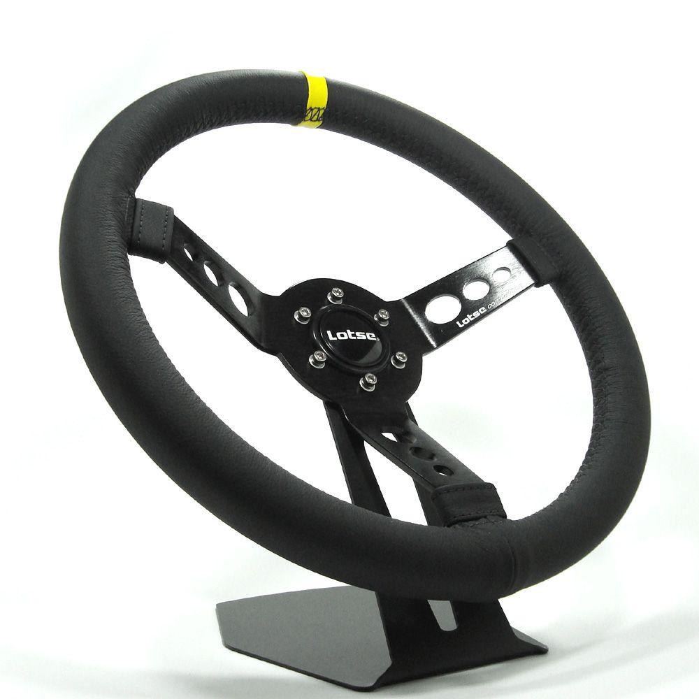 Volante Esportivo Lotse Maxx Competition com Cubo Adaptador