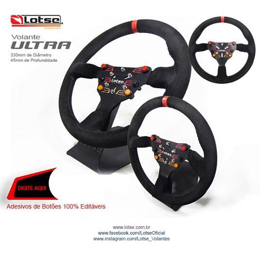 Volante Esportivo Lotse Ultra Race Competição