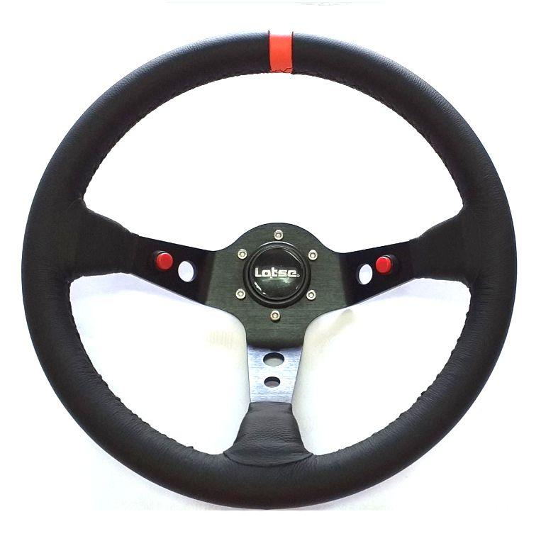Volante Lotse Dakar Couro Especial com Cubo VW GM Fiat