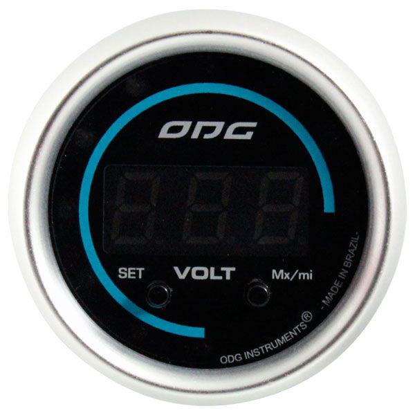 Voltímetro Digital ODG Evolution 52mm