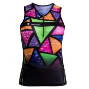 TOP TRIATHLON FEMININO (COLORFUL-TILES)