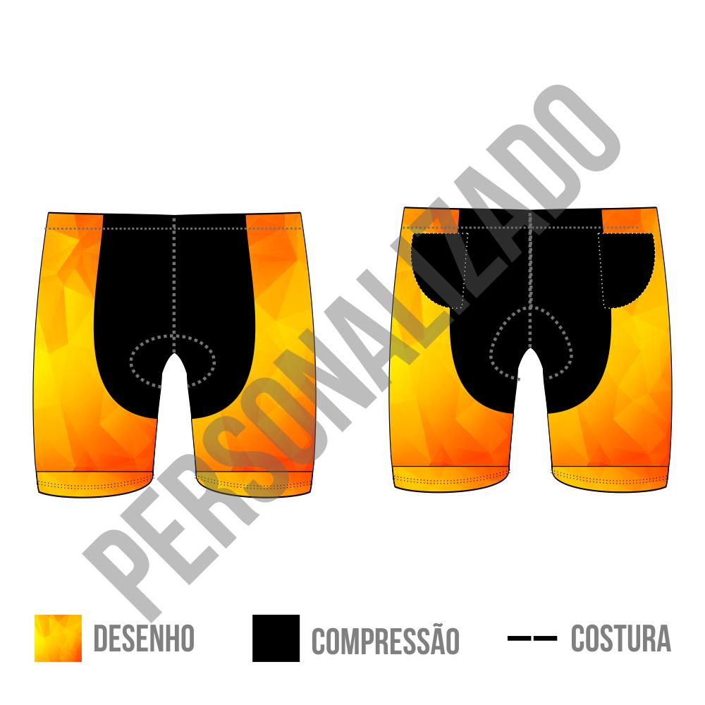 BERMUDA DE TRIATHLON POWERTECH - PERSONALIZADO