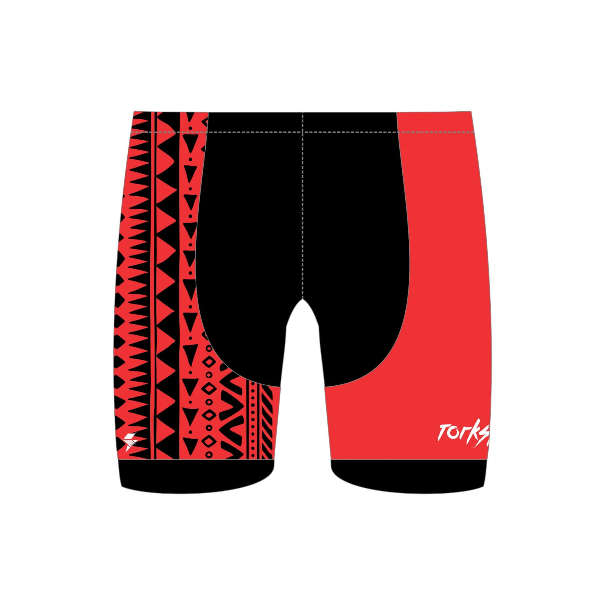 BERMUDA DE TRIATHLON TRIBAL MASCULINA