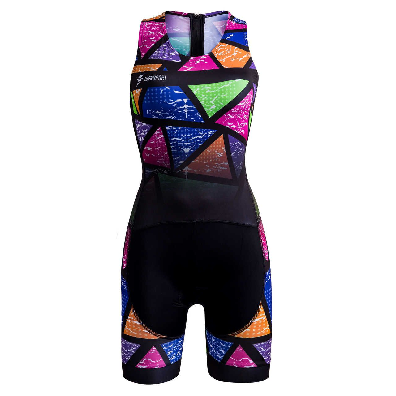 MACAQUINHO TRIATHLON FEMININO (COLORFUL TILES)