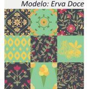 Erva Doce - Kit 18 Adesivos 15x15 cm